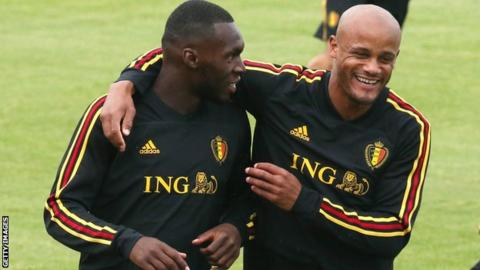 Vincent Kompany: Injured defender to stay with Belgium squad