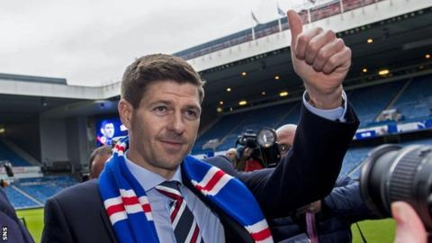 Rangers: Steven Gerrard's reign starts with Europa League qualifier against FK Shkupi
