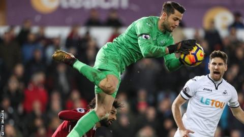 West Ham sign goalkeeper Fabianski from Swansea