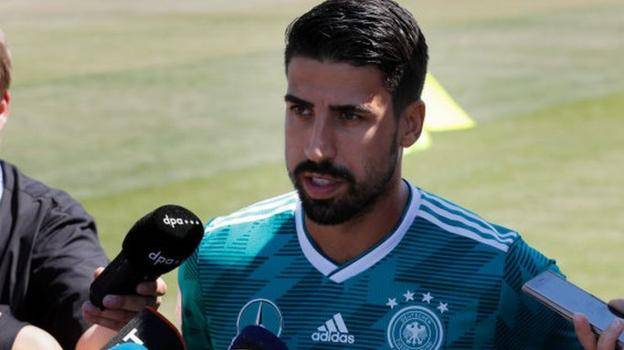 World Cup 2018: Sami Khedira handed fake boarding pass for Germany squad