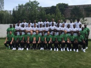 Super Eagles Release Official World Cup Team Picture