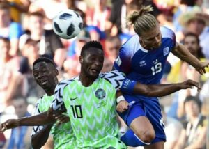 Mikel Obi may play against Argentina with hand in cast