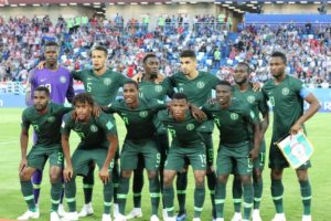 Confirmed Super Eagles Line Up: Omeruo, Musa Start, Moses To Play RWB In 3-5-2 Formation