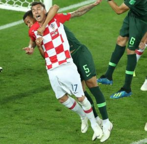 Mandzukic Admits Shock Over Decision To Award Penalty To Croatia Against Nigeria