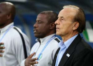 Rohr urged to fortify Super Eagles' midfield, defence