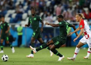 Odion Ighalo: Nigeria's clash against Argentina will be 'a war