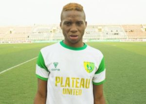 Plateau United striker Tosin Omoyele to undergo trials at Norwegian club Stabaek