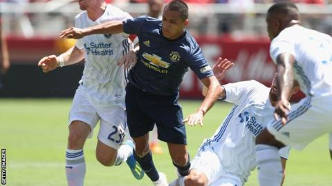 Man Utd in goalless draw with San Jose Earthquakes