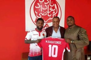 Babatunde Set For Debut With Wydad Casablanca in the CAF CL
