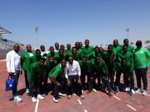 Flying Eagles Hold Mauritania in the U-20 AFCON PLAYOFF