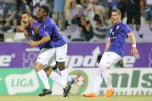 Ambrose, Nwobodo, Akinyemi On Target As Hibernian, Ujpest, Ventspils Advance in tge Europa League
