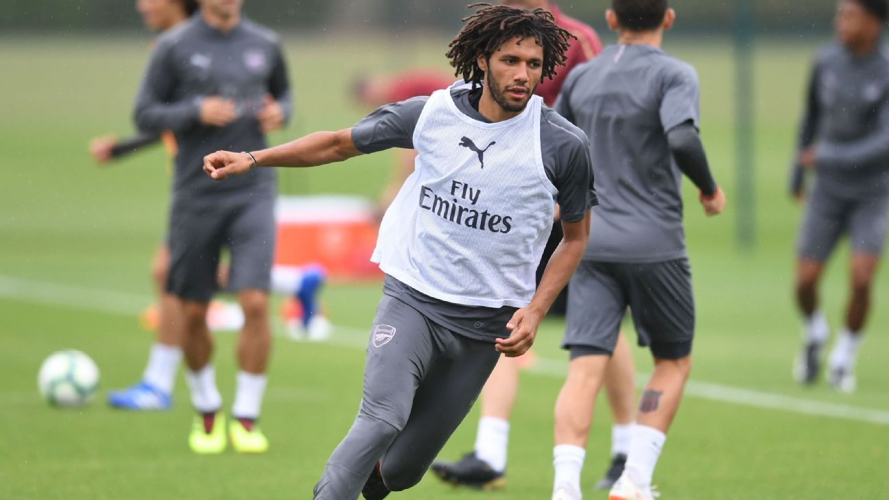 Arsenal's Mohamed Elneny wanted by Marseille - sources