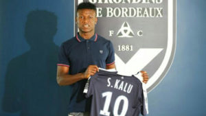 Kalu Grabs jersey number 10 As He Joins French Club Bordeaux On Five-Year Contract