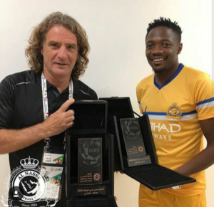 After scoring Hat trick, Musa Wins Saudi League Player Of The Week Award