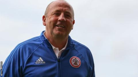 John Coleman: Accrington Stanley boss and assistant Jimmy Bell sign new deals