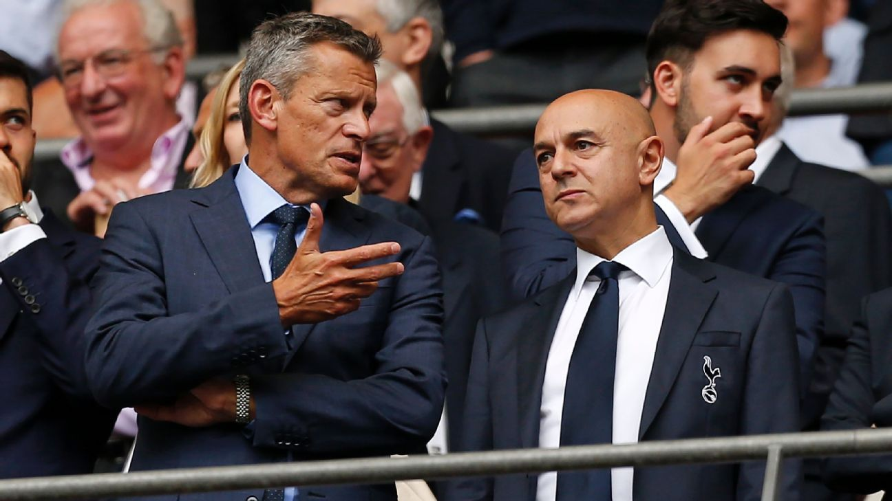 Tottenham stadium costs didn't affect summer transfer policy - Daniel Levy