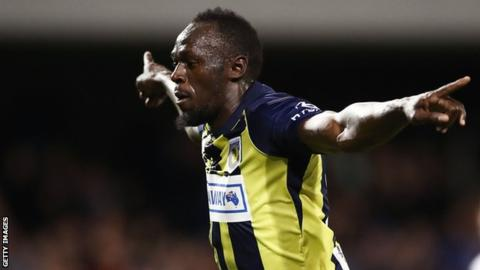 'I'm not even a professional footballer yet' - Bolt questions drugs test notice
