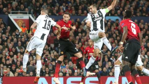 Manchester United 0-1 Juventus: Chiellini & Bonucci's Harvard University class