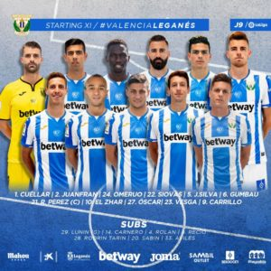Omeruo Bags First Start For Leganes In Away Draw Vs Valencia
