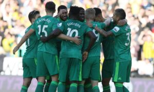 Success Makes 1st EPL Start As Watford Bag Away Win; Balogun Benched In Brighton Defeat At Newcastle