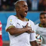 AFCON 2015: Andre Ayew heads Ghana into quarter-final after comeback 2-1 win over South Africa