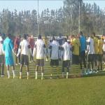 VIDEO: Ghana players chant ahead of 2015 AFCON clash against Algeria