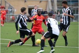 Ghanaian striker Junior Dadson hits hat-trick as Harlow thump Barkingside