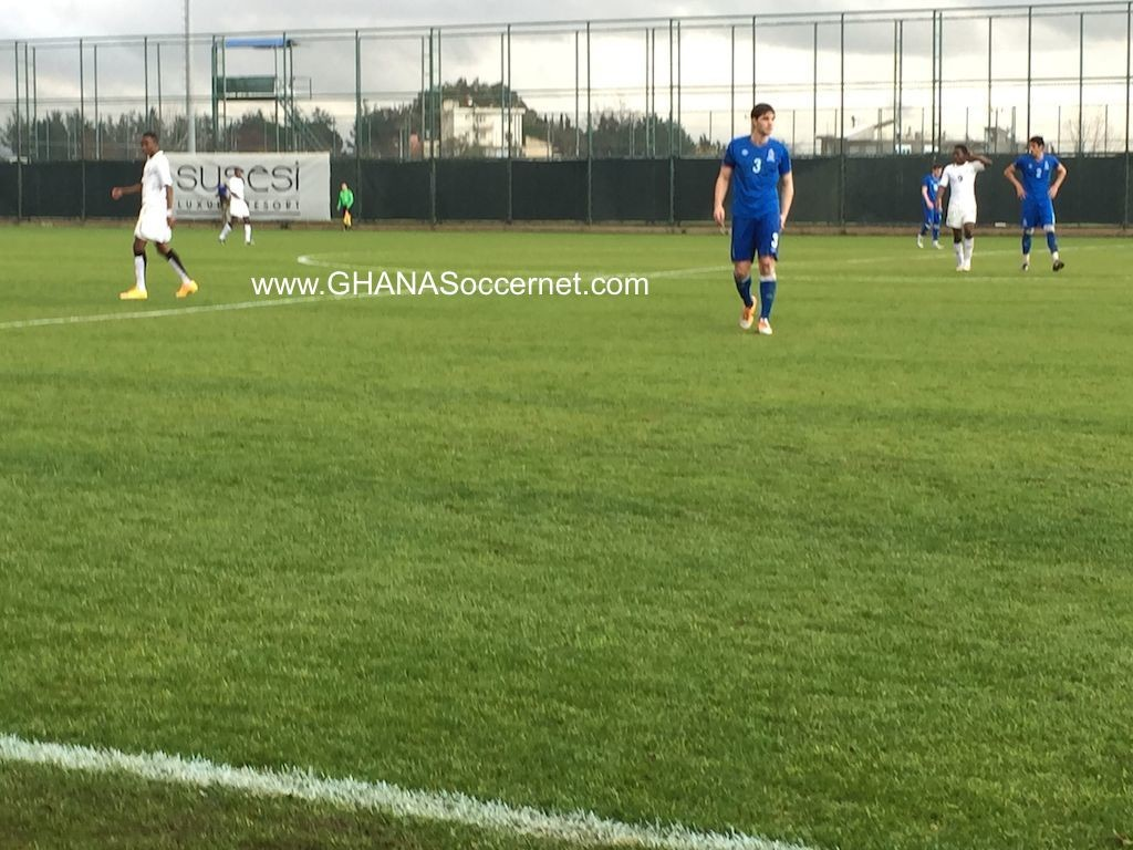 PICTURES: Ghana U20 2-1 pre-AYC friendly win over Azerbaijan in Turkey