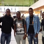 Ghana AFCON players leave for their bases in Europe