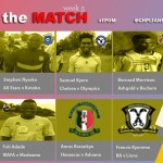 Ghana Premier League Week V Man of the Match winners- Medeama goalie Adade Foli makes cut