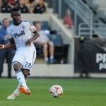 Gershon Koffie: Ghanaian midfielder returns from injury to help Whitecaps beat Real Salt Lake in MLS
