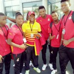 PICTURES: Ghana U20 in New Zealand for 4-nation tournament