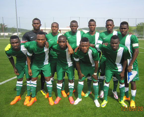 Flying Eagles Sure Of  Zambia 2017 Qualification