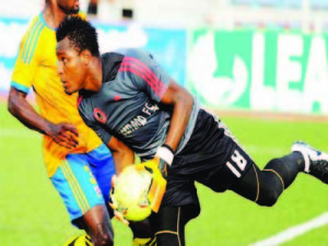 Injured Heartland goalie Obi delighted to return to action