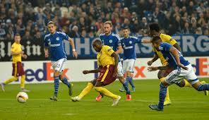 Nigerian striker Kehinde Fatai scores as Sparta Prague draw 2-2 against Schalke