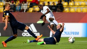 U17 World Cup: Nigeria coach Amuneke hails hat-trick hero Osimhen
