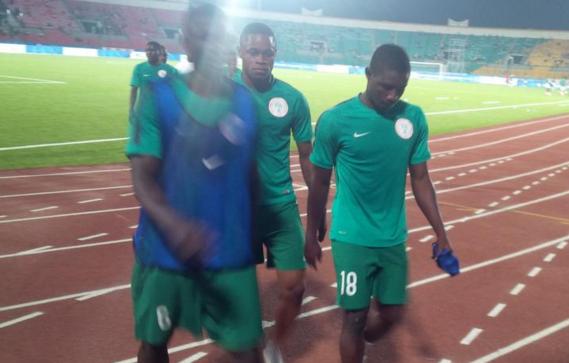 DISGRACE: Nigeria's U23 side bonuses unpaid, players wash and wear training kit