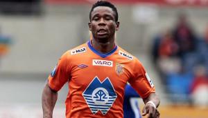 Nigerian striker James Leke wants to score four more goals in Norway