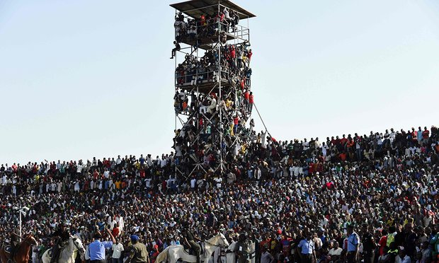 Nigeria Fined For Overcrowding At AFCON Qualifier Against Egypt In Kaduna