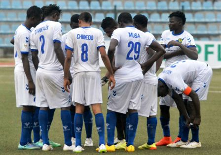 NPFL Review: El-Kanemi sustain climb on the log with 2-0 defeat of Wolves