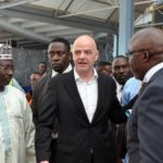 FIFA President Infantino Lands Nigeria