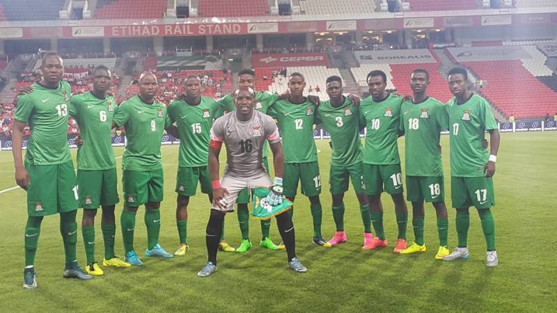 Zambia Name Solid Squad For World Cup Cracker Against Super Eagles