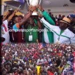 Ndi Nmeri! FC Ifeanyiubah Glow With Champions, Warriors' Anthem!