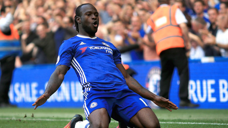 Moses Outshines Iwobi In Chelsea's 3-1 Win Over Arsenal