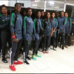Falcons Arrives In Cameroun for 2016 Awcon