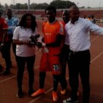 Ghana Goalie Nana Bonsu Receives Enugu Rangers fans Player of the Month