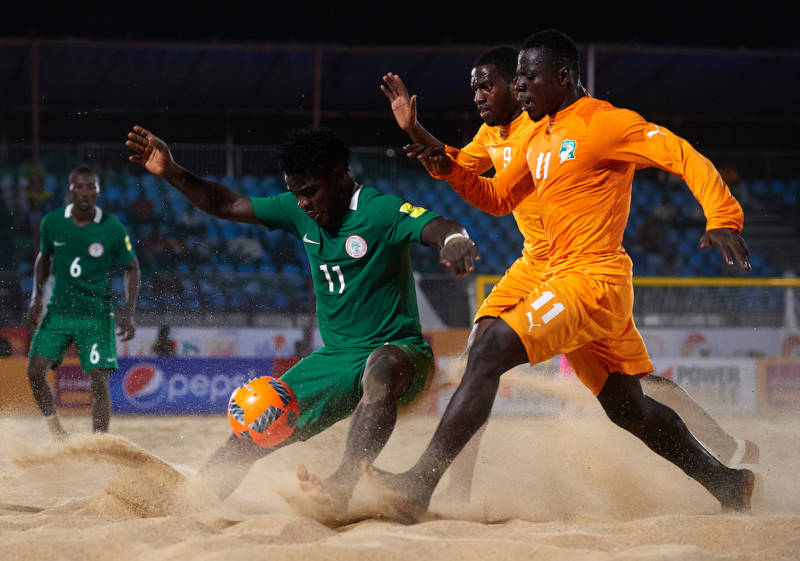 Sand Eagles Face Italy
