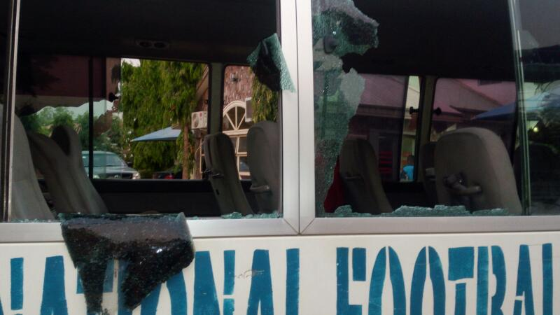 SHOCKER: Enyimba suffer stone attack at Katsina United