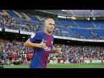 LIVE - Andrés Iniesta contract renewal (12.30pm CET)