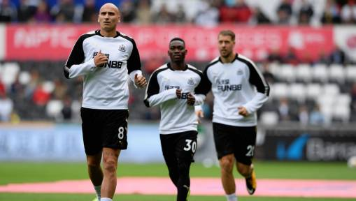 Newcastle United Ace Jonjo Shelvey in Controversy Again After Breaking Hand in Training Ground Brawl